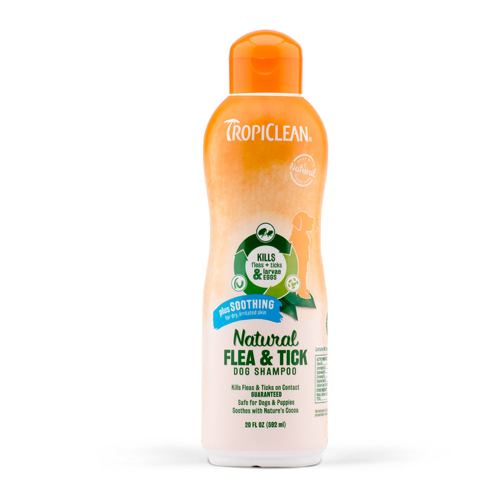 Natural Flea & Tick Shampoo- Plus Soothing