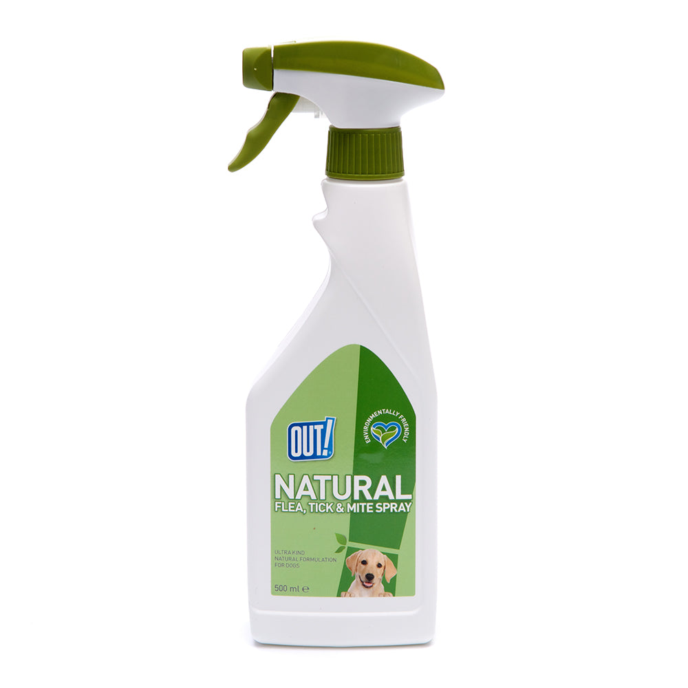 OUT! Natural Flea & Tick Spray