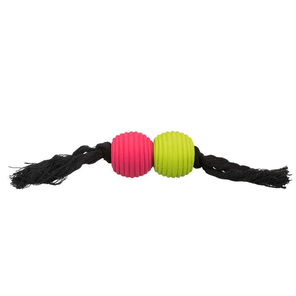 Playing Rope with Balls- Latex/Cotton