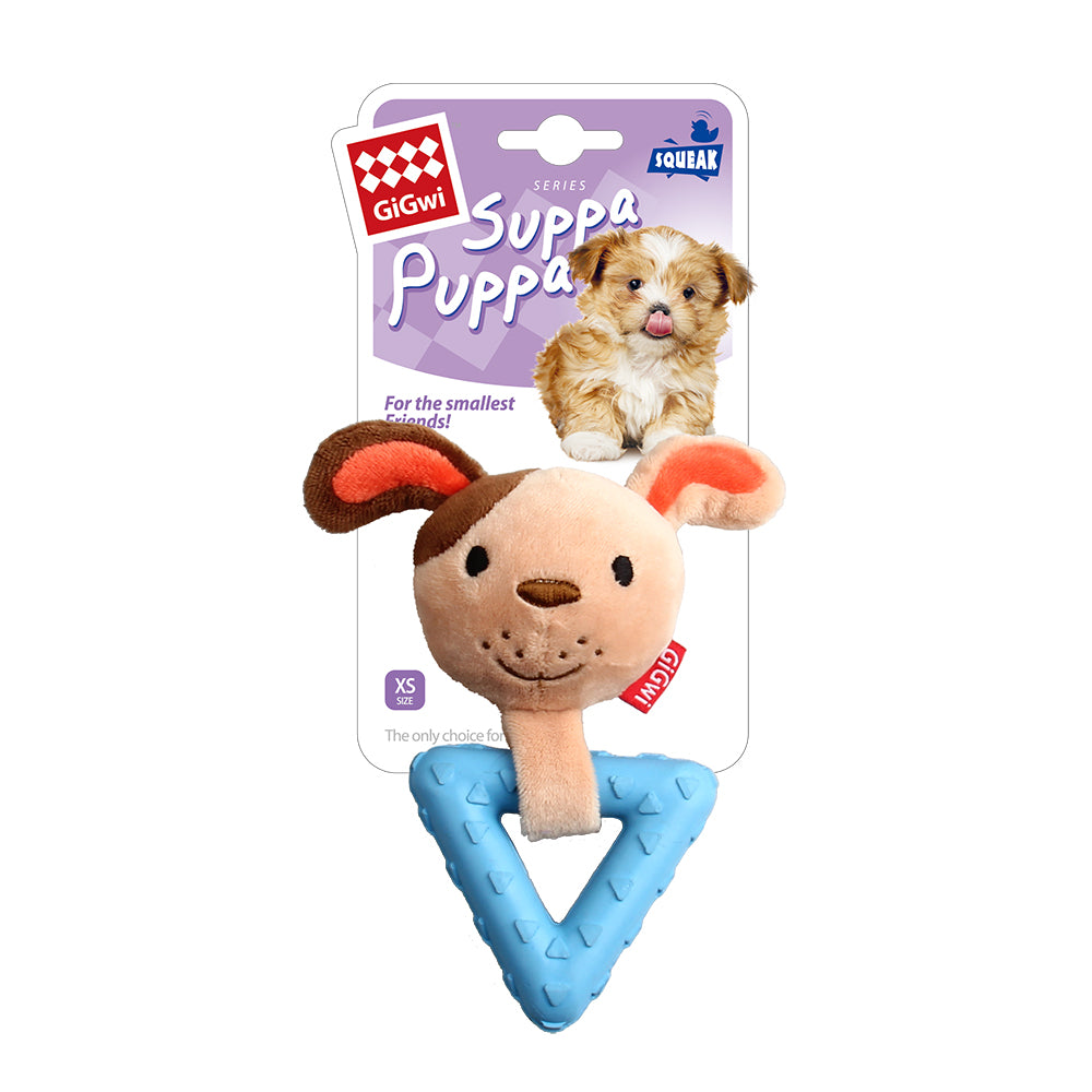 Suppa Puppa Dog S size Squeaker Inside Plush/TPR