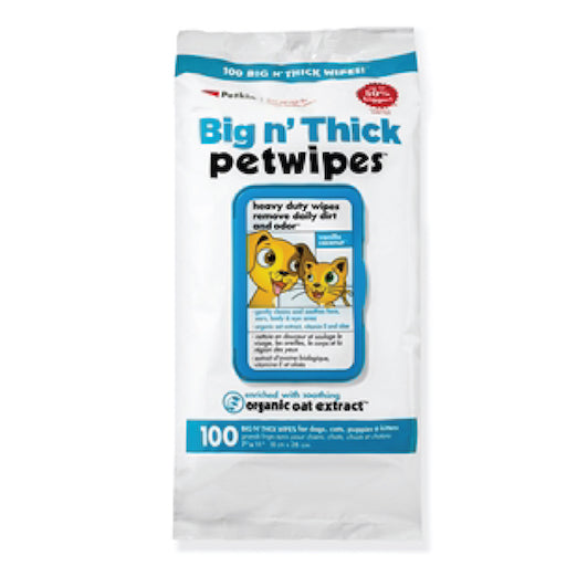 Big n Thick Pet Wipes 100 Wipes