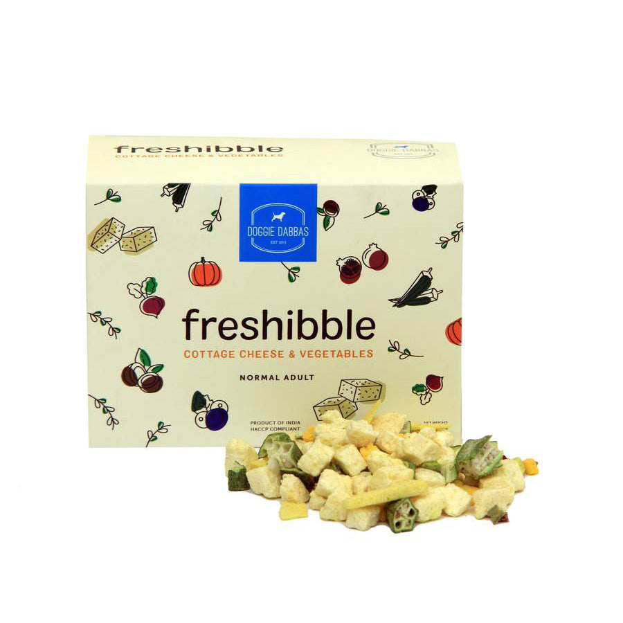 Freshibble Cottage Cheese & Vegetable