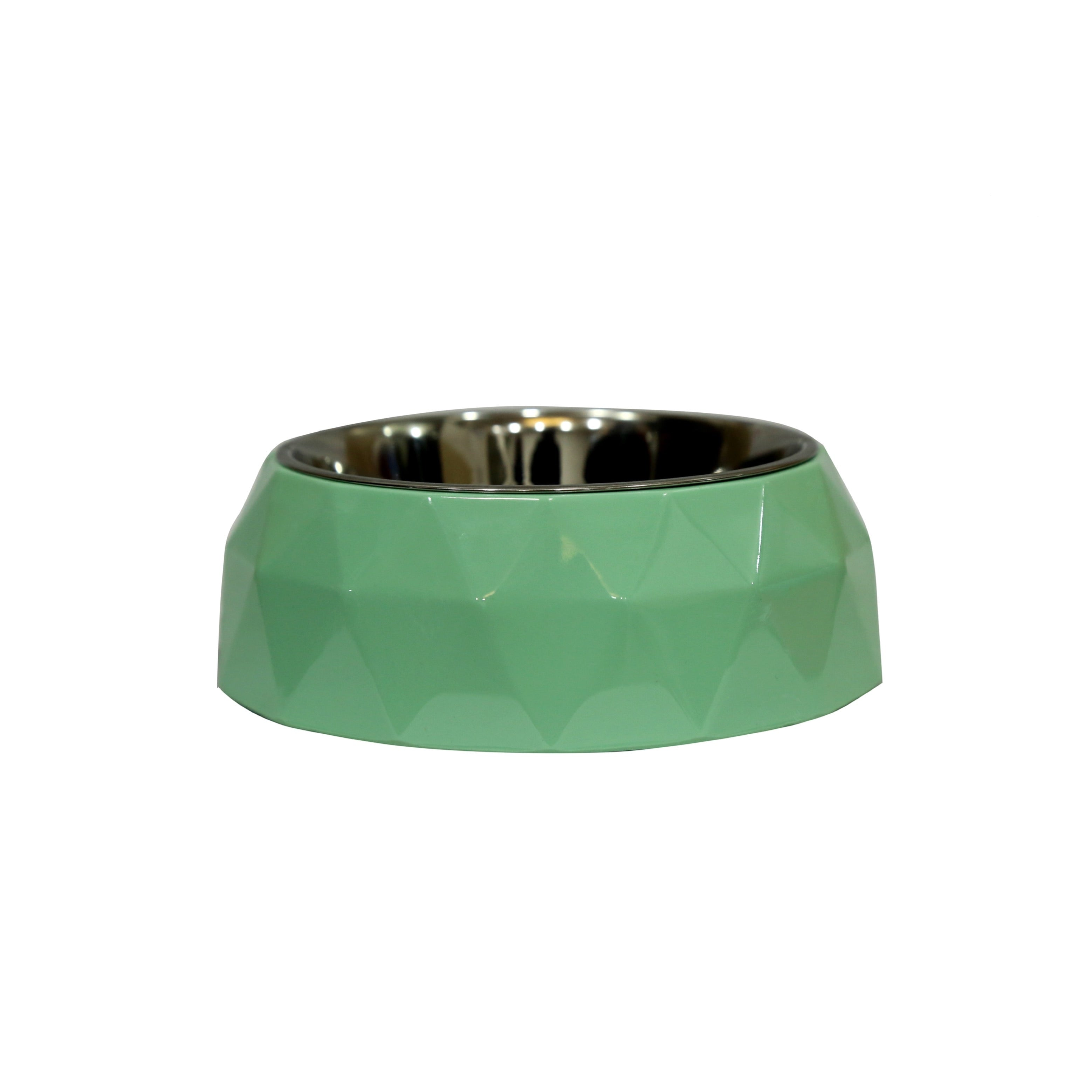 Melamine Diamond Bowl - Light Green