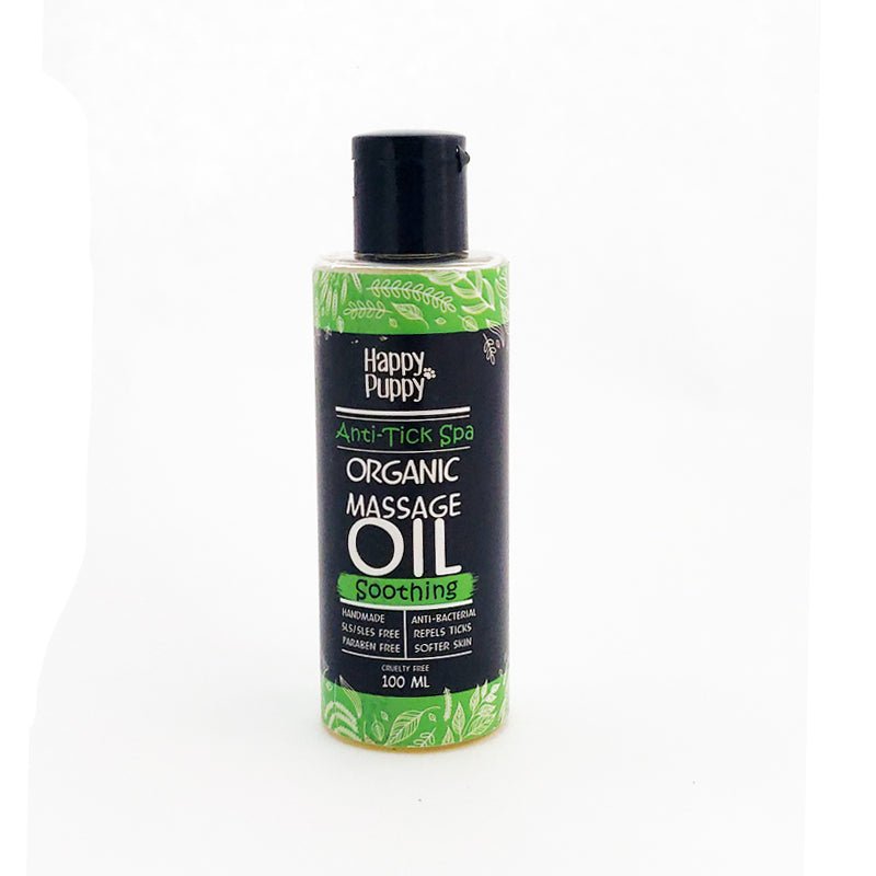 Organic Anti Tick Massage Oil