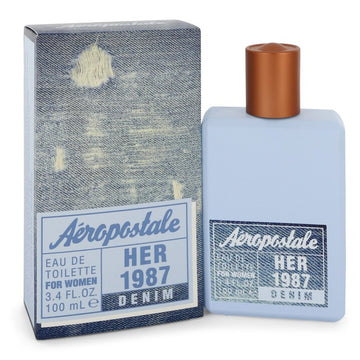Aeropastale Her 1987 Denim Eau De Toilette Spray By Aeropostale - 247Scent
