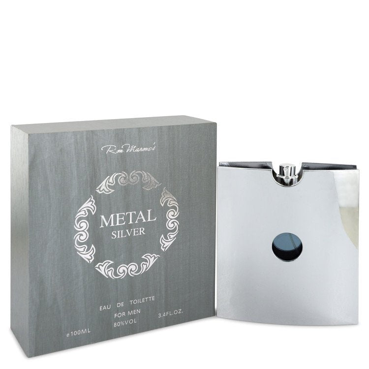 Metal Silver Eau De Toilette Spray By Ron Marone - 247Scent