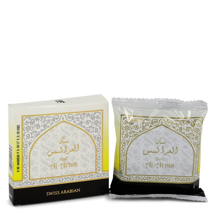 Swiss Arabian Musk Al Arais Bakhoor Incense (Unisex) By Swiss Arabian - 247Scent