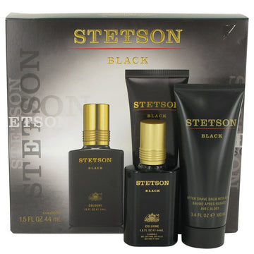 Stetson Black Gift Set By Coty - 247Scent