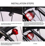 MagneticPower Bike Light