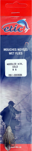 Muddler (Snelled), Gold Size H06