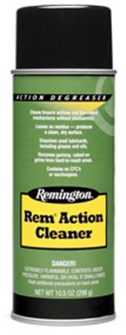 Rem Action Cleaner, 10 Oz Aerosol, Bilingual