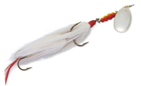Musky Killer In-Line Spinner #5 3/4oz Gold/Yellow Tail