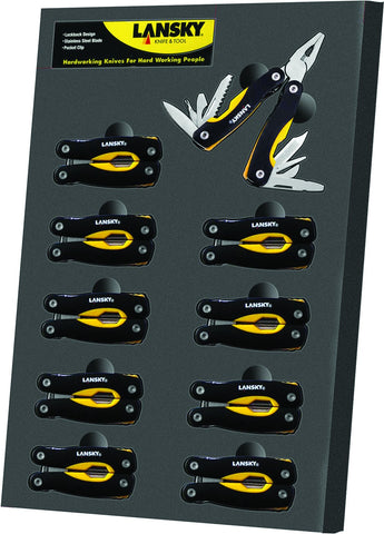 Mini Multi-Tool Display 10-Piece Mini Multi-Tool Display