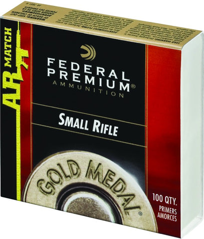 Gold Medal Large Rifle Mag Primer 100Ct Match