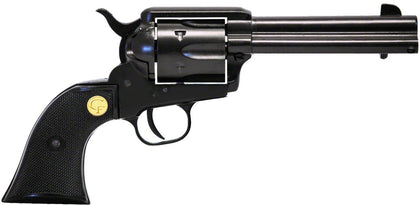 "1873 Single Action Revolver SAA. Regulator Centerfire ""Al 7075"" Blk, 4.75"" Bbl, Fixed Front Sight, Blk Grips, 6 Rnd , 45LC"