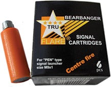 15mm Bearbanger Cartridges, Travels 125+ Feet, Orange, 6-Pack