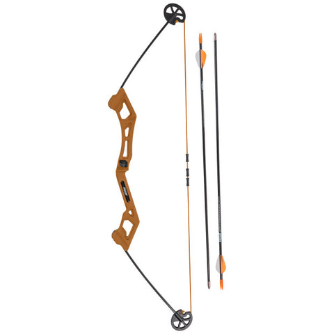 Valiant youth bow set 7-16 lbs flo green