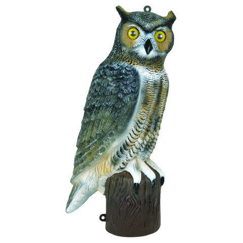 "Owl Decoy, 21"", Single Decoy. Controls pests near barns, chimneys, gardens or docks."