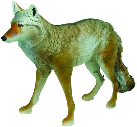 Masters Series Lone Howler Coyote Decoy, 3-D, Faux Fur Tail