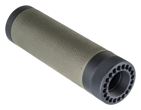 AR-15/M-16 (Carbine) Free Float Forend,  OD Green Gripping Area
