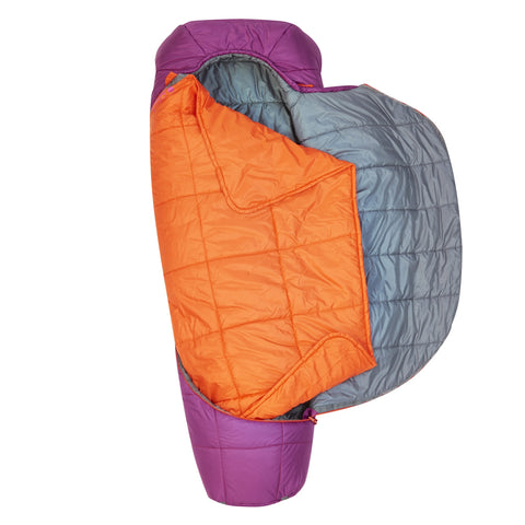 Tru.Comfort Sleeping Bag -7C Thermapro Wmns Reg Rh, Comfot-Tuck Zipper System, Oversized Mummy, Fits Full Size Pillow, Fits To 5'8""