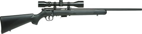 93R17 FXP Bolt Action Rifle 17 HMR, RH, 21 in, Satin Blued, Syn Stk, 5+1 Rnd, Accu-Trigger