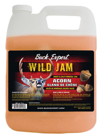 Baiting Products DEER- Wild Jam Sweety Salty ACORN Jelly - 96oz/3L - C/Pck - 6