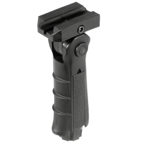 Ambidextrous Foldable Tactical Foregrip w/ 5 Adjustable Positions