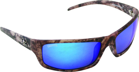 Prowler Sunglasses True Timber/Blue Mirror 64mm Lens