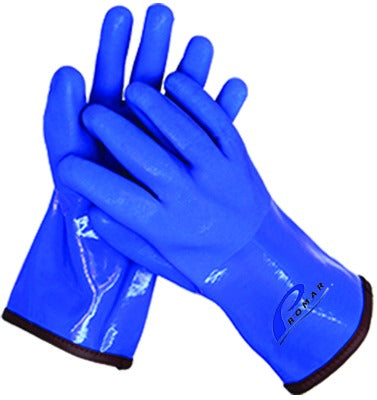 Insulated ProGrip Gloves Blue Large
