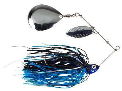 Kraken Spinnerbait 3/8 Oz, Black Blue
