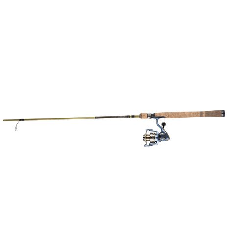 President Spinning Combo, 25 sz, 10 Brg. Reel without Line,2pc Ultra Light Action