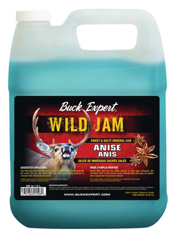 Baiting Products DEER- Wild Jam Sweety Salty ANISE Jelly - 96oz/3L - C/Pck - 6