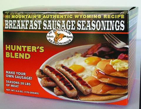Hunters Blend Breakfast Sausage