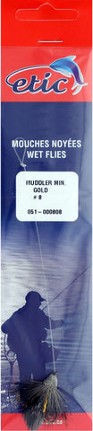 Muddler (Snelled), Gold Size H08