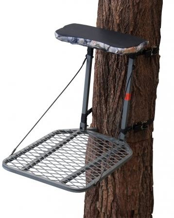 The Sniper Pro - Fixedpositiontreestand?Weathertreated steel,seatcushion