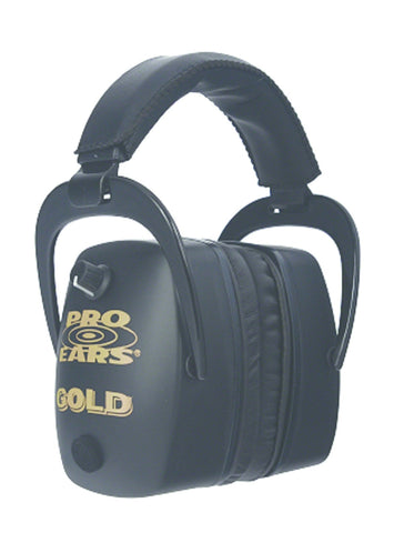 Pro Mag Gold Electronic Ear Muffs, NRR 30 Black