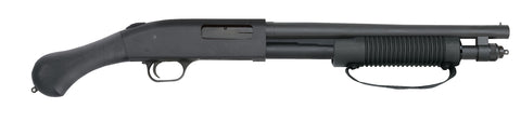 "590 Shockwave Pump Shotgun, 20 Ga, 14"" Bbl, 6-Rnd, Strapped Forend, Non NFA, 26.37"" OA Length"