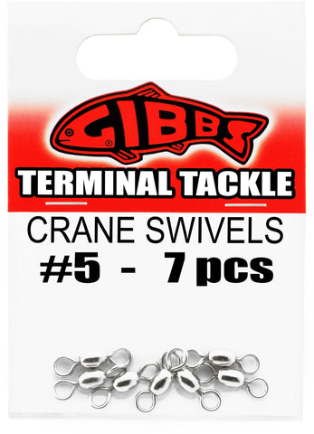 Crane Swivels #5, 7 pc