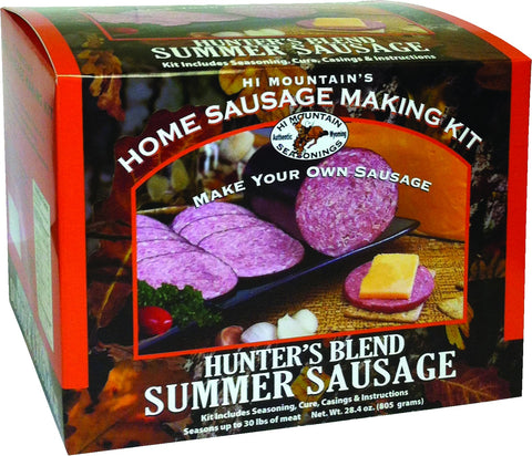 Hunters Summer Sausage Sausage Making Kit
