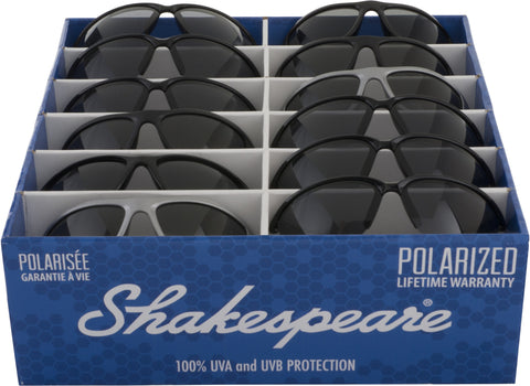 Pre-Selected Shakespear Sunglasses PDQ