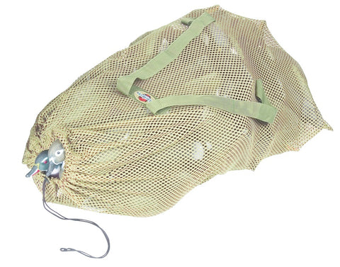 "Mesh Decoy Bag 30"" x 50"" W/Straps, Holds up to 36 Standard Mallards"