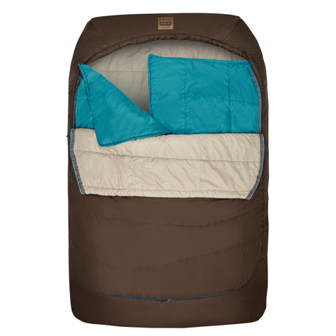 TRU.COMFORT 2person, -7C THERMAPRO, Comfot-Tuck zipper system, Oversized mummy, Fits full size pillow, Fits to 6'6""