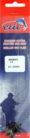 Wet Flies (Snelled), Mosquito Size H08