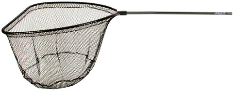 "Grande Salmon Net 37""x40""Hoop 72""Handle Blk Poly Net"