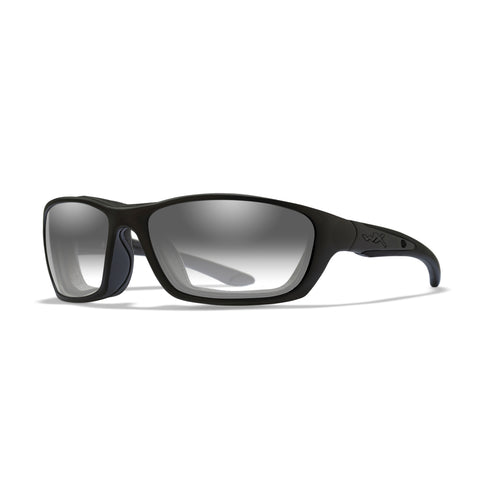 BRICK - Sunglasses - Clear Lens/Matte Black Frame