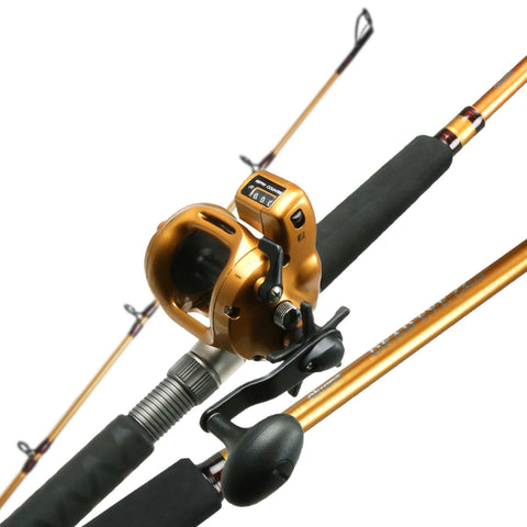 Dead Eye classic combo 7'10 1pc/Tel M rod Magda Pro Line Count reel E Glass rob blank for Walleye trolling