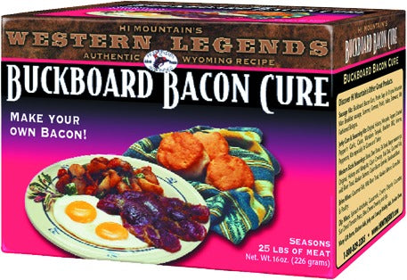 Buckboard Bacon Cure