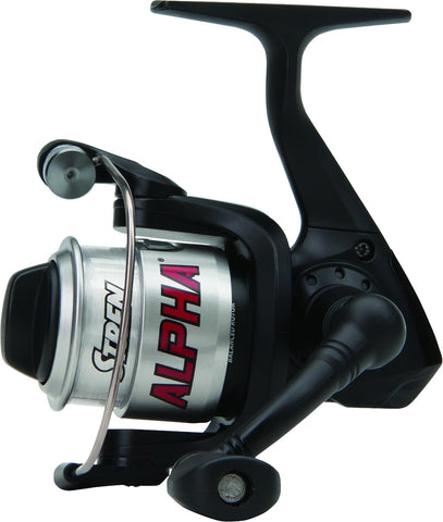 Alpha Spinning Reel Graphite Body Rotor & Spool Spooled w/4Lbs Line