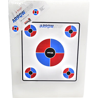 Arrowstop Foam Youth Archery Target, Std 4lb 18x24x2
